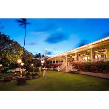 Plantation Gardens Wedding Venues Kauai Poipu
