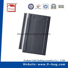 classic clay roof tile flat roof tile made in china ceramic