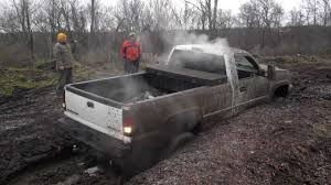 Super Awesome Lifted Chevy Silverado 2500 Mud Bogging