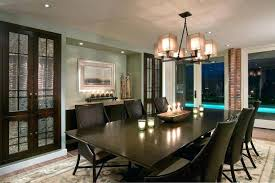 Built In Buffet Dining Room Contemporary With Glass