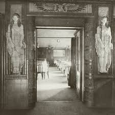 entrance to the hotel restaurant in 1914 deco imperial hotel