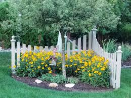 Corner Fence I Built A Few Years Ago, Now With Black Eyed Susans ... Creative Water Gardens Waterfall And Pond For A Very Small Garden Corner House Landscaping Ideas Unique 13 Front Yard Lot On Side Barbecue Bathroom Tub Drain Gardening Of Patio Good Budget Will Give You An About Backyard Ponds Makeovers Home Simple Awesome Decor Block Pdf