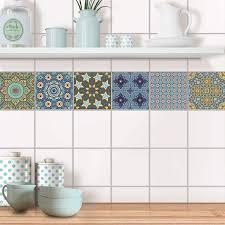 fliesenaufkleber set für küche bad design orientalisches mosaik