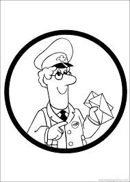 Postman Pat Coloring Pages 1