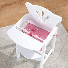 KidKraft Lil' Doll High Chair Doll High Chair Executive Gray The Aldi Wooden Toys Are Back Today And The Range Is Set Of Dolls Pink White Wooden Rocking Cradle Cot Bed Matching Feeding Toy Fniture For Babies Toddlers With Harness Removable Tray Adjustable Legs Sold Crib By Cup Cake In Newton Mearns Glasgow Gumtree Olivias Nursery Centre 12 Best Highchairs Ipdent Details About World Baby Play Td0098ap Tiny Harlow Ratten Highchair Real Wood Toys 18 Inch Table Chairs Set Floral Fits American Girl Kidkraft Tiffany Bow Lil 611 Hayneedle