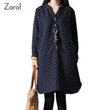 online get cheap polka dot shirt dress aliexpress com alibaba group
