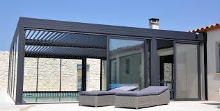 pergolas bioclimatique pergola alu bioclimatique wallis outdoor