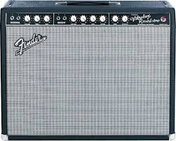 Fender 2x10 Guitar Cabinet by Fender Custom Vibrolux Reverb 40w 2x10 Tube Combo Amp Cream City