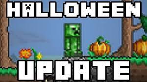 Pumpkin Moon Terraria by Terraria 1 2 1 Halloween Update Now Live Terraria