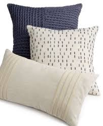 Macys Sofa Pillow Covers by Hotel Collection Linen Fog Decorative Pillow Collection Only At