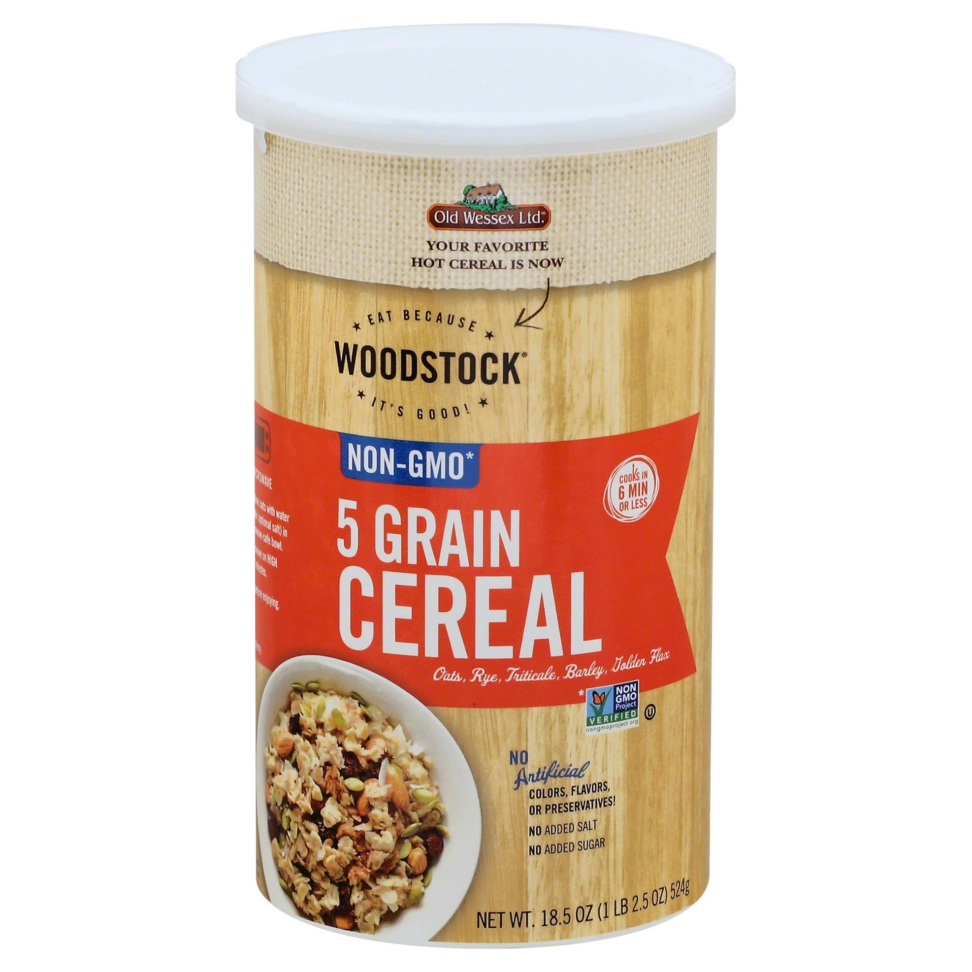 Woodstock 5 Grain Cereal - 18.5oz
