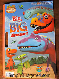 Dinosaur Train Big BIG Dinosaurs Giant Coloring Book