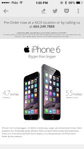 NCIX iPhone 6 Promo Save $50 f New Bell Pre Orders