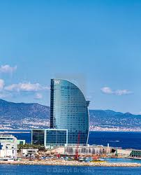 100 W Hotel Barcelona In Harbor License Download Or Print For