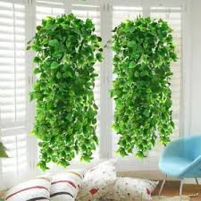 details zu 2er künstlich hängende rebe künstliche pflanze garland pflanzen rebe hängen