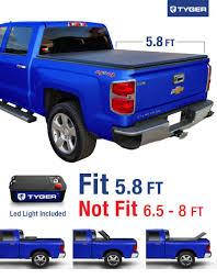 Amazon.com: Tyger Auto TG-BC3C1006 TRI-FOLD Truck Bed Tonneau Cover ...
