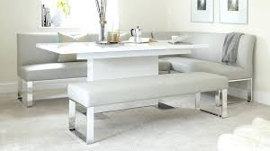Corner Dining Room Tables Minimalist Cool Bench Table Plans Kitchen In Pertaining To