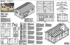 Shed Plans 16x20 Free by Planpdffree Downloadshedplans Page 132
