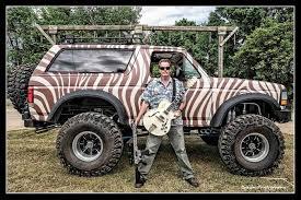 100 Gibson Truck TedBronco Guitar Rock Roll Badass Classic