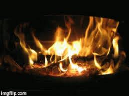 On Fire Burn GIF