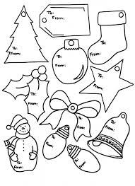 Printable Colorable Gift Tags To Personalize Christmas Holiday PackagesGift TagsColoring Pages