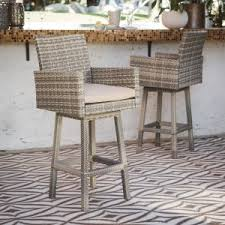 Outdoor Swivel Bar Stools