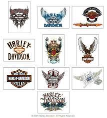 Harley Davidson Temporary Vending Tattoos