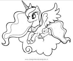 My Little Pony Coloring Pages Pinkie Pie Princess Cartoons