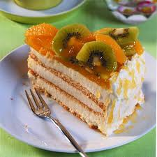 orangen käsesahne torte