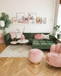 faszinierende pink grüne bilderwand wohnzimmer poster amalfi poster