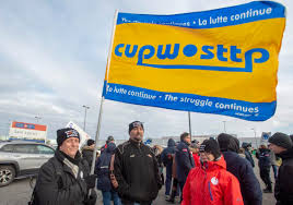 Canada Post Trucks Backed Up As Strikes Move Throughout Quebec ...