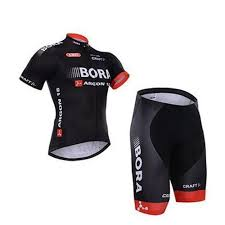 Cheap Bora Argon 18 Craft Short Sleeve Cycling Jerseys Bicycle Wear