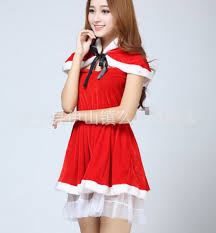 christmas women clothing uniforms temptation funny lady scarf