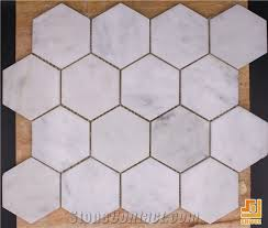 new design interior white carrara marble mosaic tile for