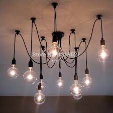 light bulb chandelier fashioned light bulb chandelier
