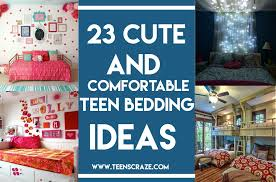 Teenage Girl Bedding 23 Cute and fortable Bedding Ideas