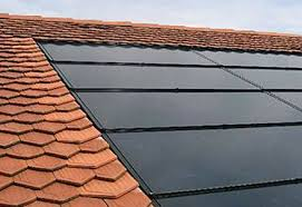 flush fitting solar panels roof roof tiles solar