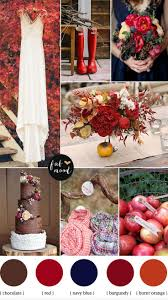 Wedding Inspiration Fall Color Schemes Pinterest