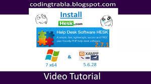 Best Help Desk Software by Install Hesk 2 7 1 On Windows 7 Localhost Xampp 5 6 28 Open