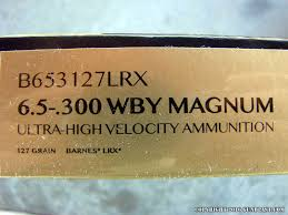 Weatherby Mark V Accumark 6 5 300 Weatherby Magnum Bolt Action Rifle