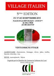 chambre de commerce italienne l italie en foires salons événements