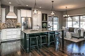 Contemporary Kitchen with Ceramic Tile & L shaped in Omaha NE