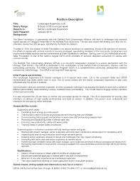 Extraordinary Landscape Supervisor Resume Examples For Architect Templates