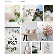 Pastels And Botanical Inspiration Home 2018 Trend Boards From Appletizer