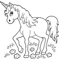 Unicorn Coloring Pages Surfnetkids