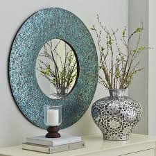 Pier One Mosaic Floor Lamp by Azure Mosaic Mirror Round Pier 1 Imports Jeff Really Liked
