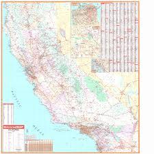 California Wall Maps