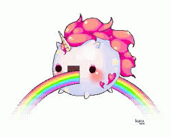 Luxury Pink Fluffy Unicorns Dancing On Rainbows Wallpaper Unicorn Rainbow Cute Discover