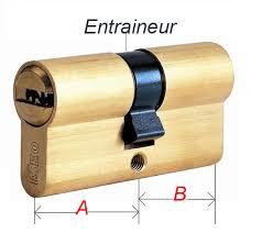 barillet securite porte entree comment mesurer un cylindre de serrure