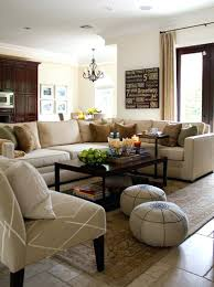 living room chic living room ideas with brown furniture living